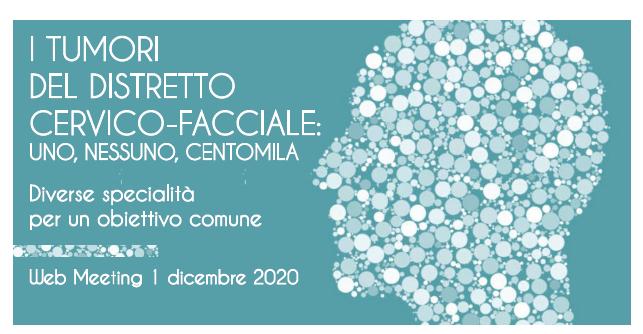 Course Image I TUMORI DEL DISTRETTO CERVICO-FACIALE: UNO, NESSUNO, CENTOMILA