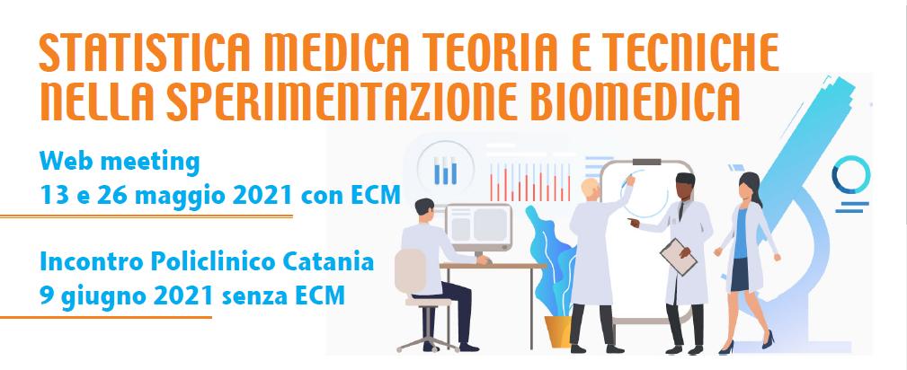 Course Image STATISTICA MEDICA TEORIA E TECNICHE NELLA SPERIMENTAZIONE BIOMEDICA